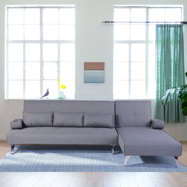 Offers Priced Cassels Twin or Smaller Tight Back Convertible Sofa by Latitude Run by Latitude Run