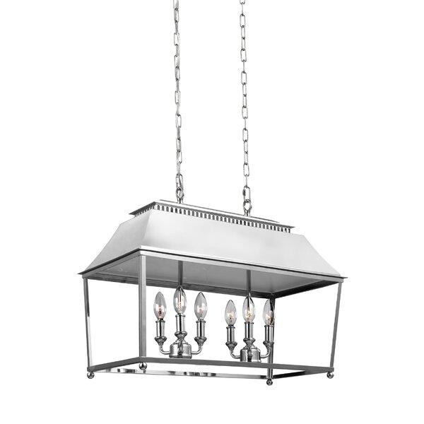 Darwin 6-Light Billiard Light by Gracie Oaks