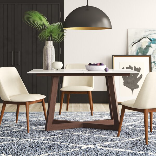 Dobbs Extendable Dining Table by Mercury Row