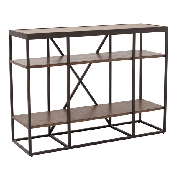 Kinney Storage Console Table by 17 Stories