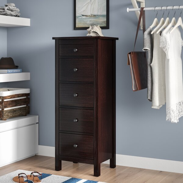 Bryant 5 Drawer Lingerie Chest by Beachcrest Home