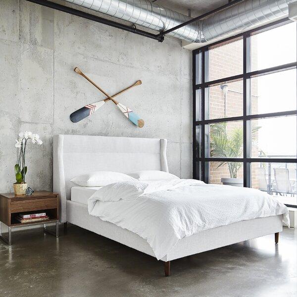 Carmichael Upholstered Platform Bed by Gus* Modern