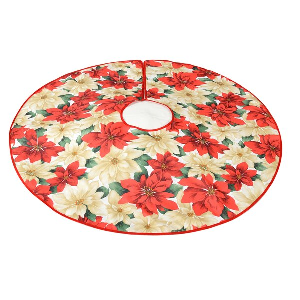 Decorative Christmas Tree Skirt by Violet Linen