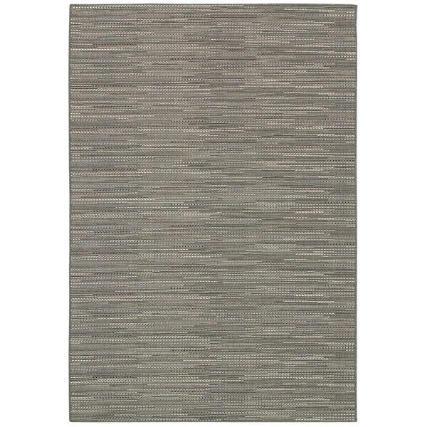Kayden Gray Indoor/Outdoor Area Rug by Beachcrest Home