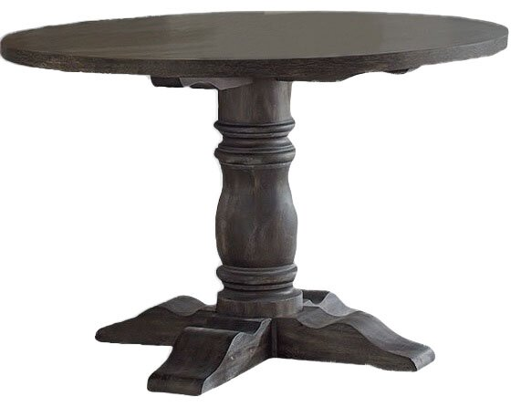 Sandown Solid Wood Dining Table by Three Posts