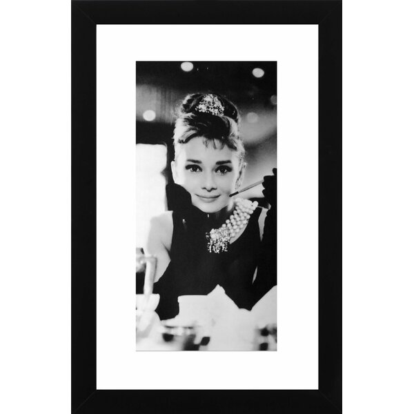 Audrey Giclée Framed Photographic Print by PTM Images
