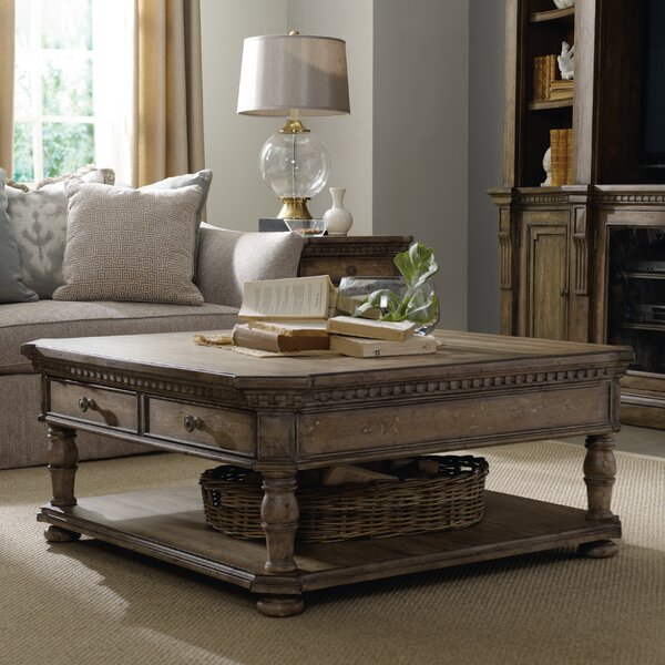 Sorella Coffee Table with Storage by Hooker Furniture