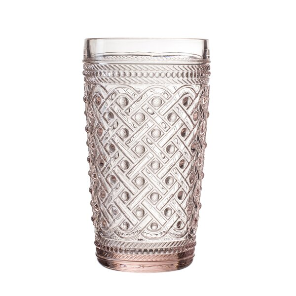 Bistro Ikat Glass Highball Glass (Set of 4) by Elle Decor