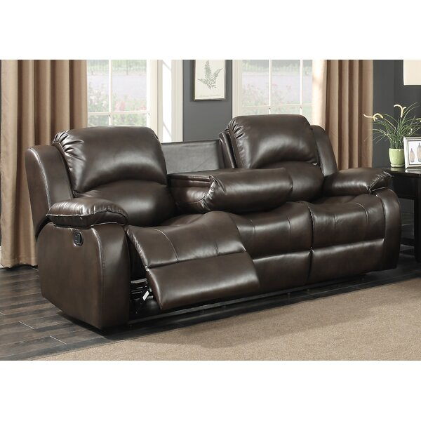 Samara Transitional Reclining Sofa by AC Pacific