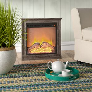 Solvi Simple Electric Fireplace