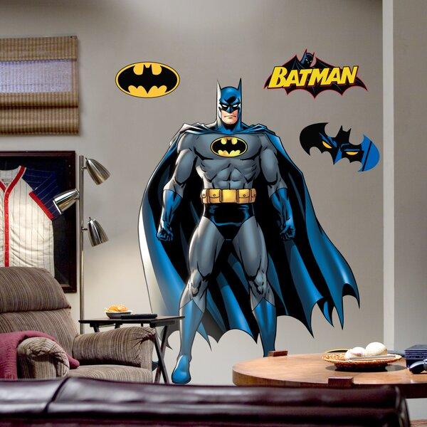 Super Heroes Batman Wall Decal by Fathead