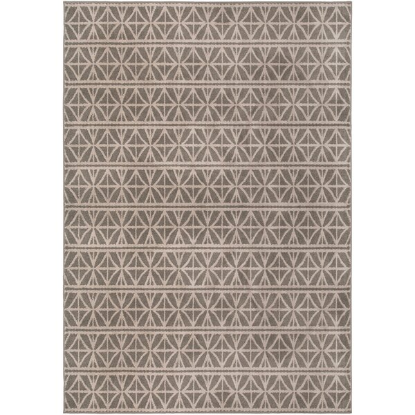 Katia Lattice Grey Area Rug by Langley Street