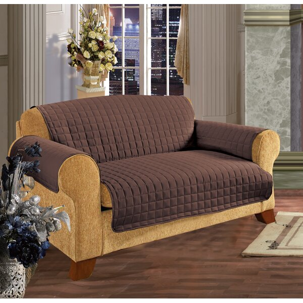 Furniture Protector Box Cushion Loveseat Slipcover by Andover Mills