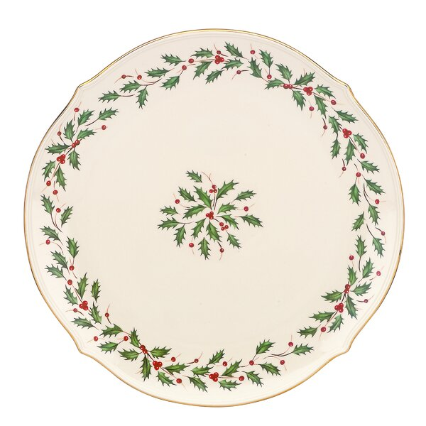 Holiday Round Platter by Lenox