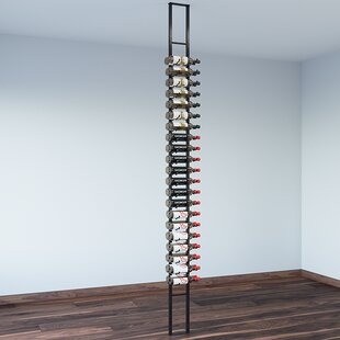 Floating 42 Bottle Wall Mounted Wine Rack by VintageView