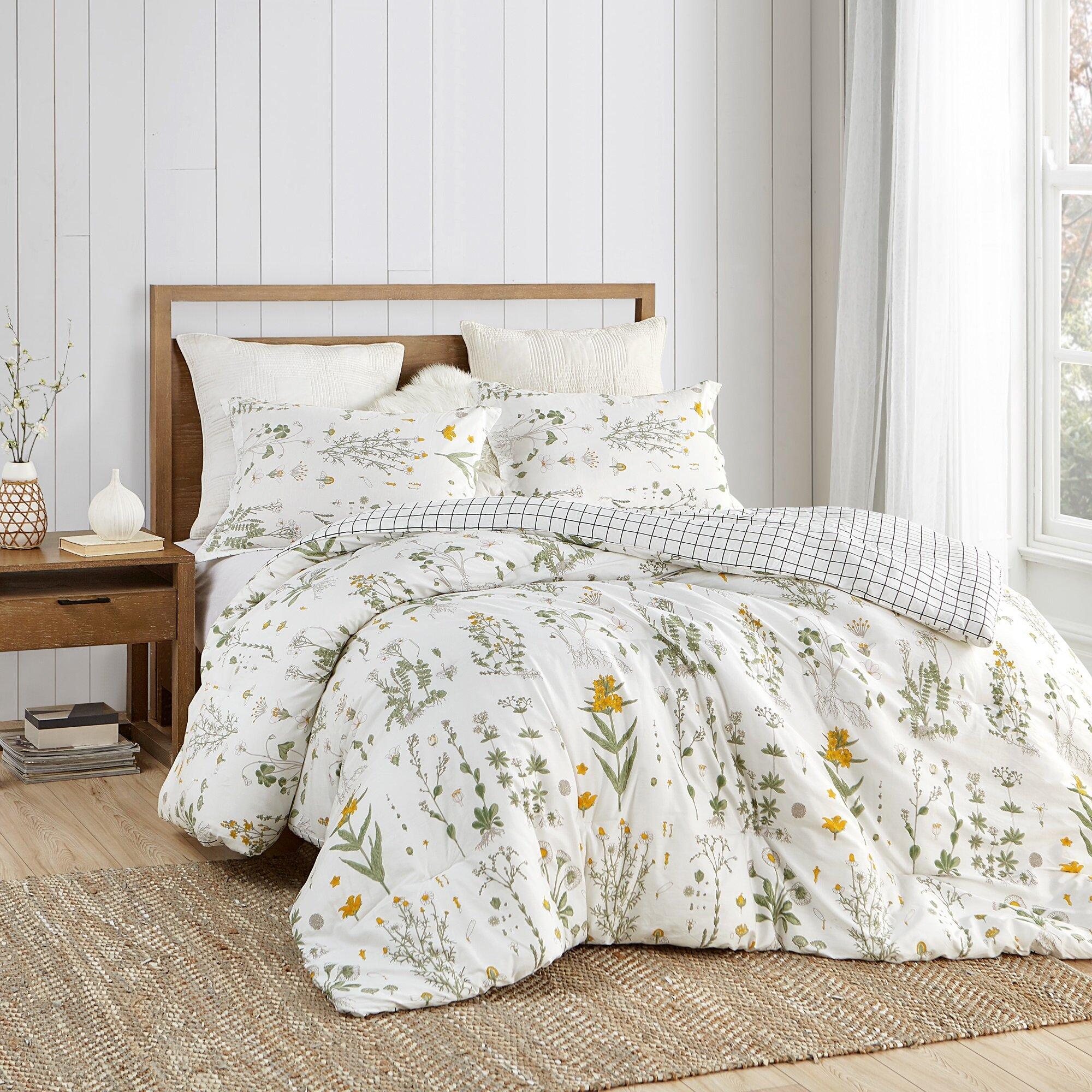 Bettwaren Wasche Matratzen Boys Full Size Comforter Set Reversible Teen College Dorm Room Blue Yellow Gray Pandeglangkab Go Id
