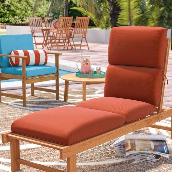 Kellner Indoor/Outdoor Sunbrella Chaise Lounge Cushion by Beachcrest Home