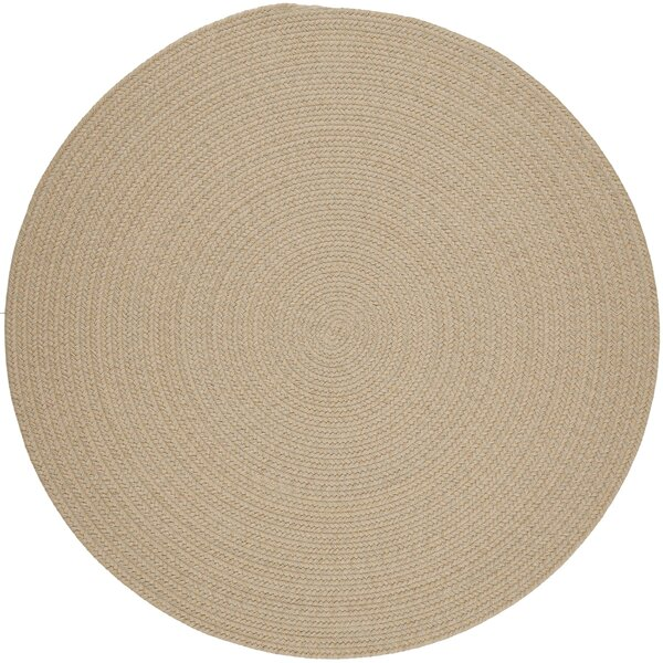 Handmade Sand Area Rug by The Conestoga Trading Co.