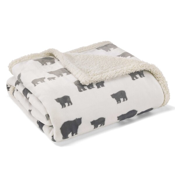 Bear Village Ultra Plush Throw by Eddie Bauer