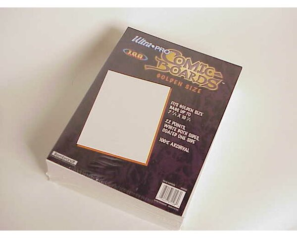 7.5 x 10.5 Golden Age Comic Boards by Ultra Pro