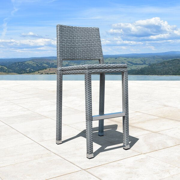 Konnor 30-inch Patio Bar Stool (Set Of 4) By Orren Ellis