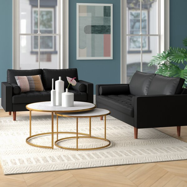 Best Price Lincoln 2 Piece Living Room Set