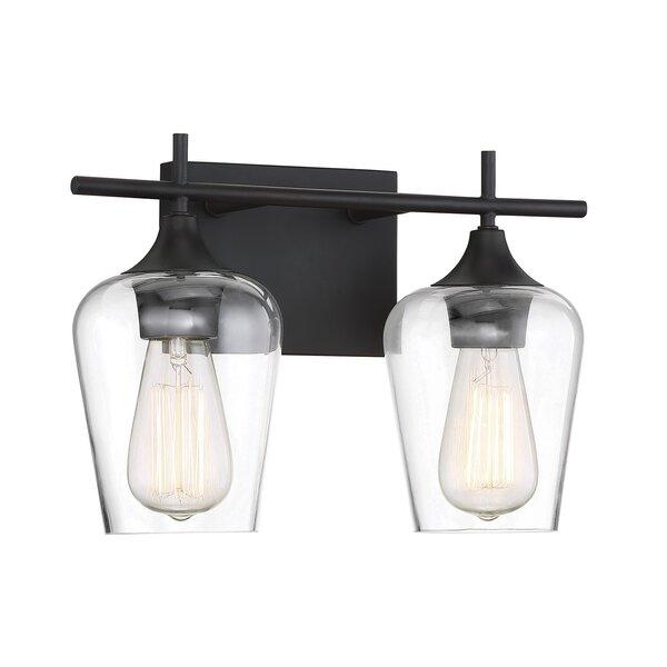 Staci 2-Light Vanity Light by Zipcode Design