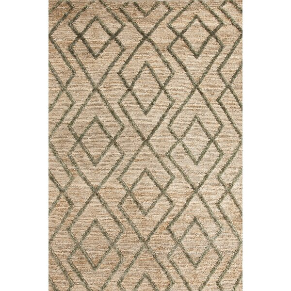 Marco Moss Cut-pile Cream Area Rug by Bunny Williams for Dash and Albert