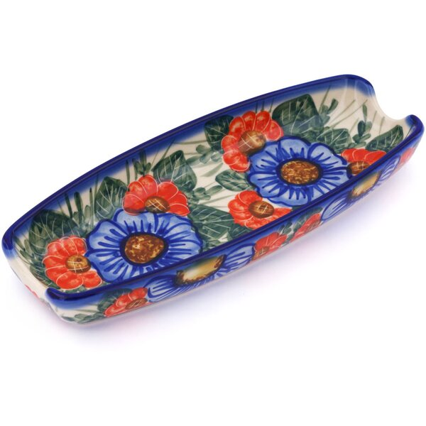 Flowers in Bloom Platter by Polmedia