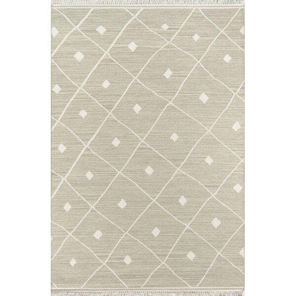 Totman Geometric Handmade Flatweave Wool Sage Area Rug Reviews Joss Main
