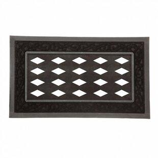 Attirant Driscoll Scroll Decorative Doormat