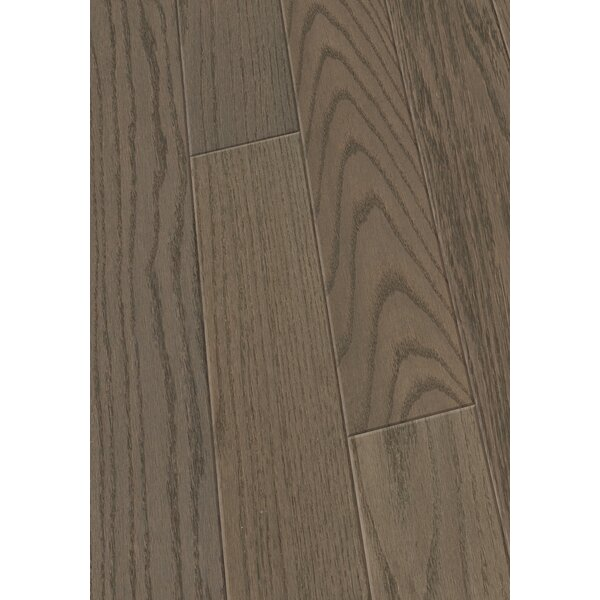 5 Engineered Oak Hardwood Flooring in Brushed Granite by Maritime Hardwood Floors