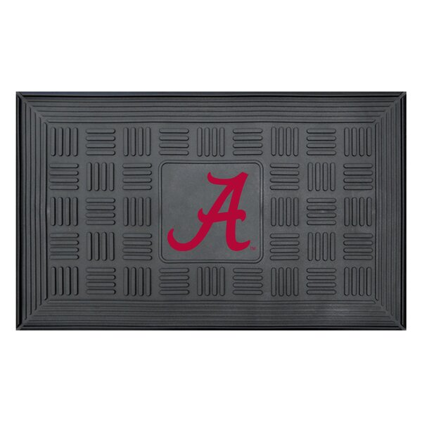 NCAA University of Alabama Medallion Door Mat by FANMATS