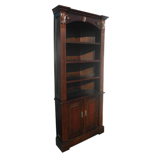 Odelina Carved Corner Half Open Armoire by Astoria Grand
