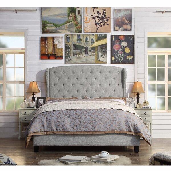 Siebert Upholstered Standard Bed by Winston Porter Winston Porter