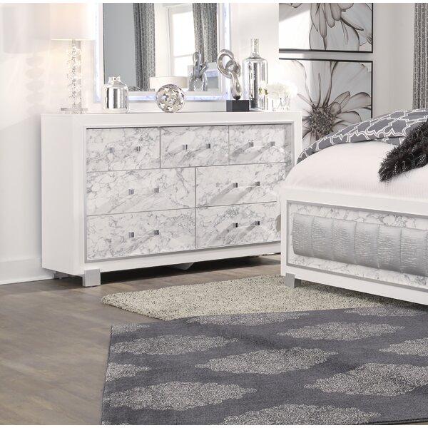 Faria 7 Drawer Dresser by Everly Quinn