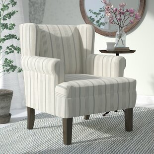 London Rolled Wing back Chair by Laurel Foundry Modern Farmhouse