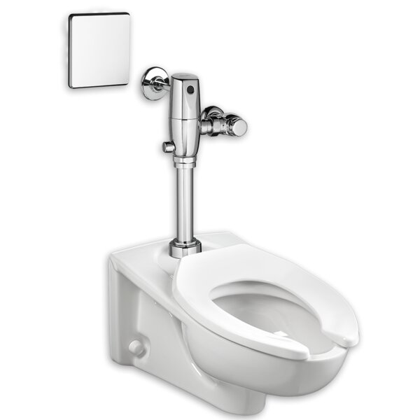 Selectronic 1.1 GPF Elongated One-Piece Toilet with Touchless Flush by American Standard