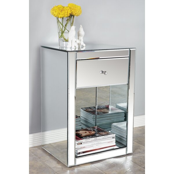 Ashtyn 1 Drawer Nightstand by Statements by J