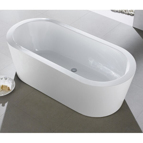 Ramo 58 x 29 Freestanding Bathtub by Eviva