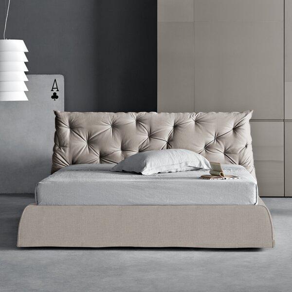 Impunto Upholstered Platform Bed by Pianca USA
