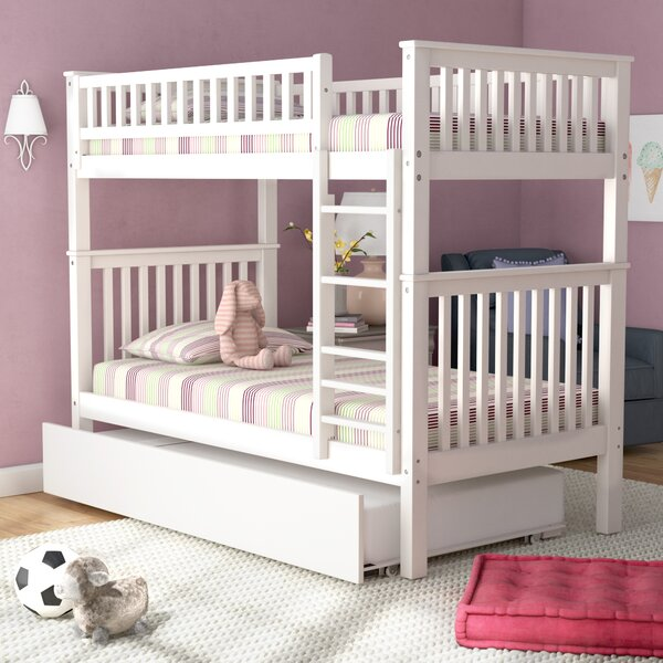 Shultis Twin over Twin Bunk Bed with Trundle by Viv + Rae