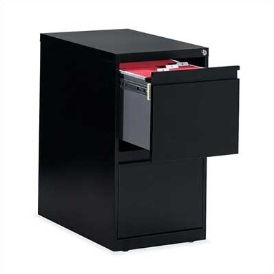 G Series 2-Drawer Vertical Filing Cabinet by Global Total OfficeG Series 2-Drawer Vertical Filing Cabinet by Global Total Office