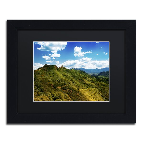 Great Wall XIII by Philippe Hugonnard Framed Photographic Print by Trademark Fine Art