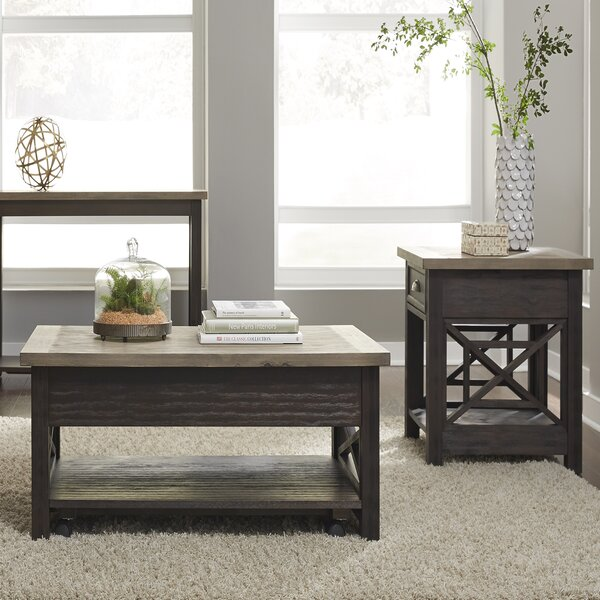 2 Piece Coffee Table Set By Darby Home Co