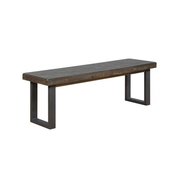 Batchelder Wood Bench by Gracie Oaks