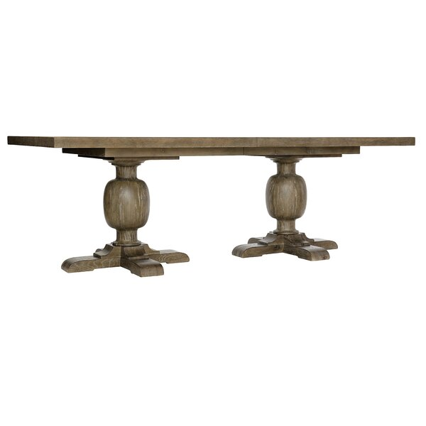 Rustic Patina Extendable Dining Table by Bernhardt Bernhardt