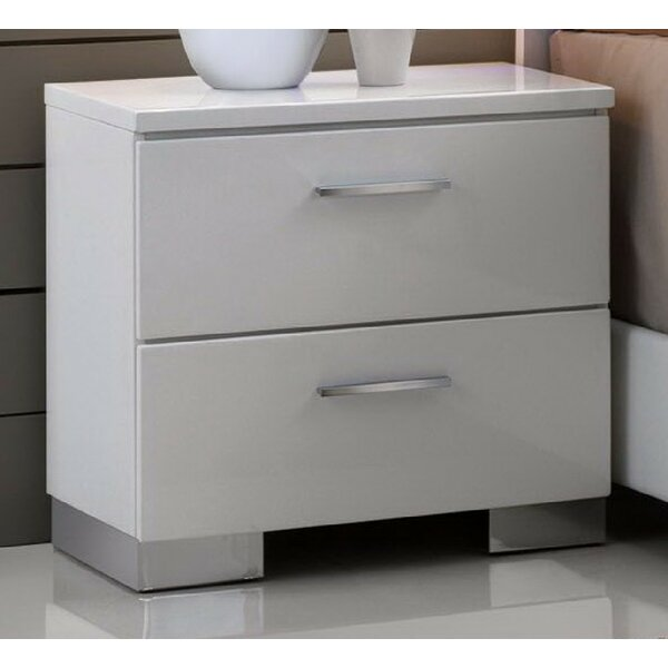 Dias 2 Drawer Nightstand by Orren Ellis