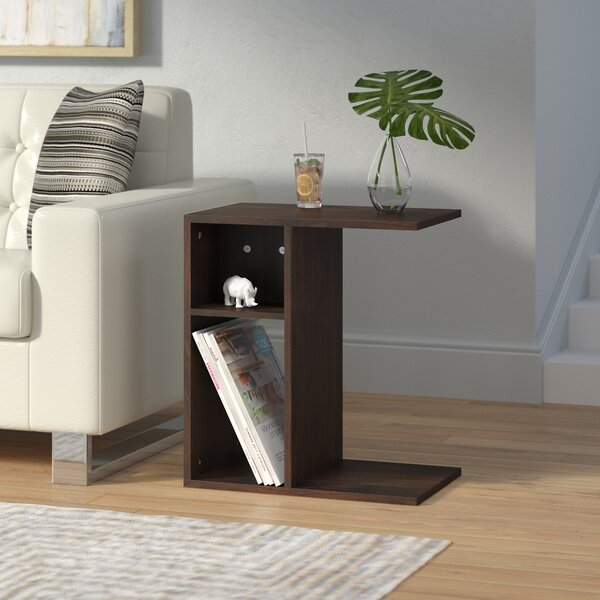 Barger End Table by Ebern Designs