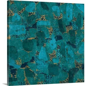 Gilded Stone Graphic Art on Canvas by Great Big Canvas
